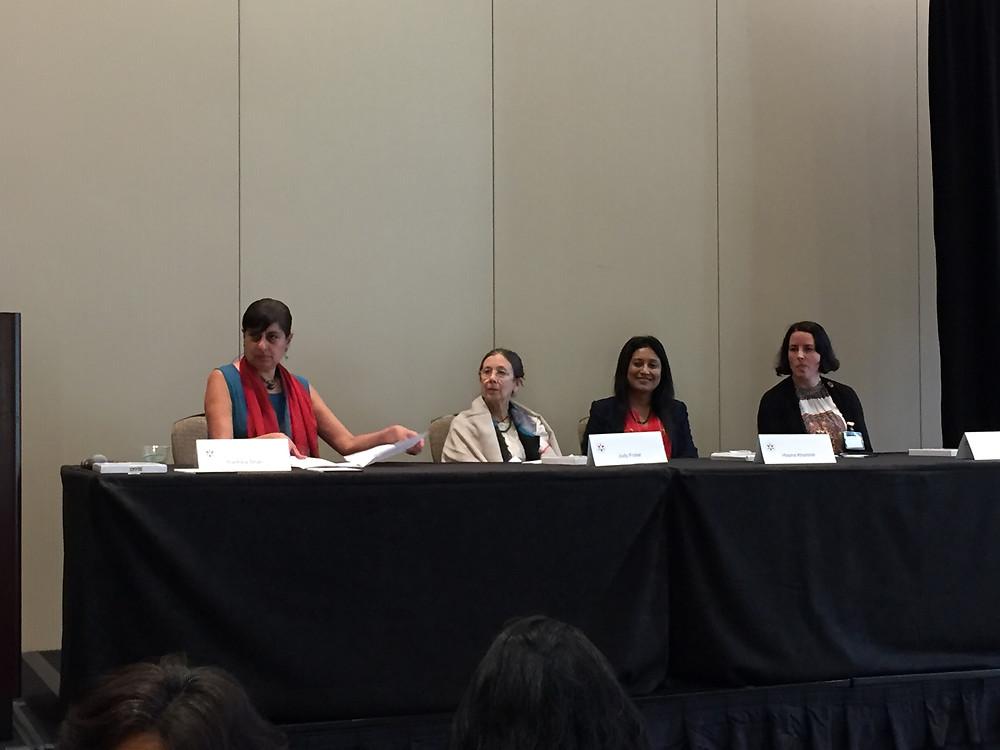 Radhika Shah, Judy Frater, Hasina Kharbih, Sarah Henry