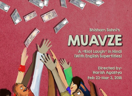 """""""Muavze"""": a political satire by Naatak Theater Company"""