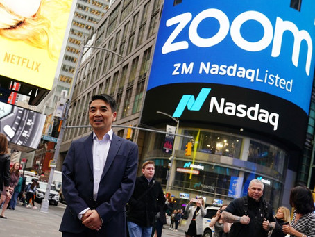 Eric Yuan, Zoom and the Pursuit of Happiness