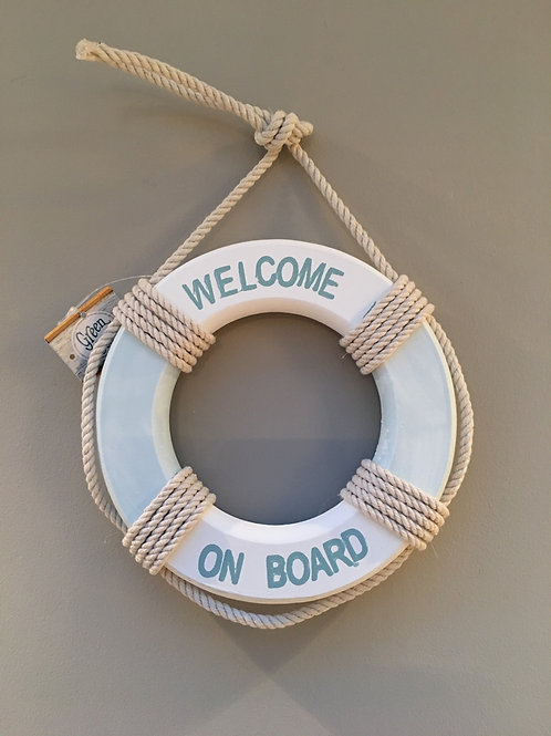 Welcome Life Ring