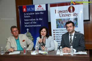 Press Conference for Rowan University and American University (Malta)