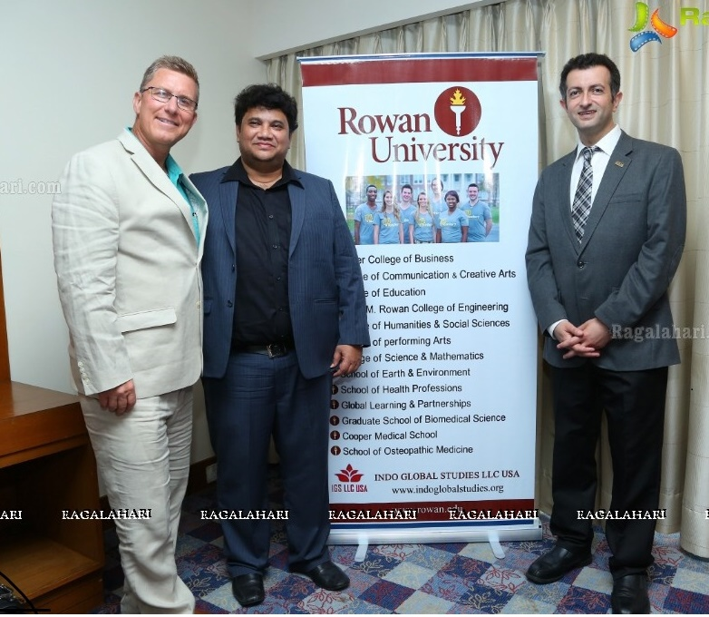 Visit by Rowan University to IGS Office