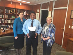 Indo Global Studies, recognized by Governors State University, for recruiting over 300 students.
