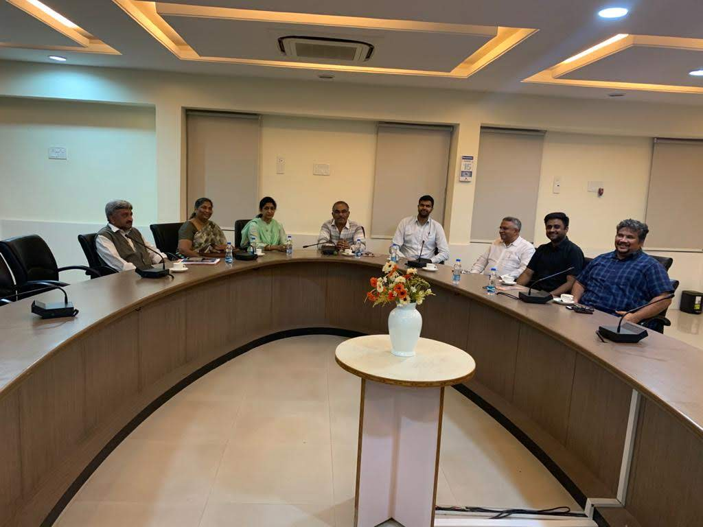 Visit by Governors State University country head to CBIT, Hyderabad.