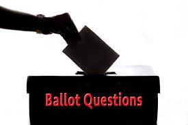 2020 Ballot Questions