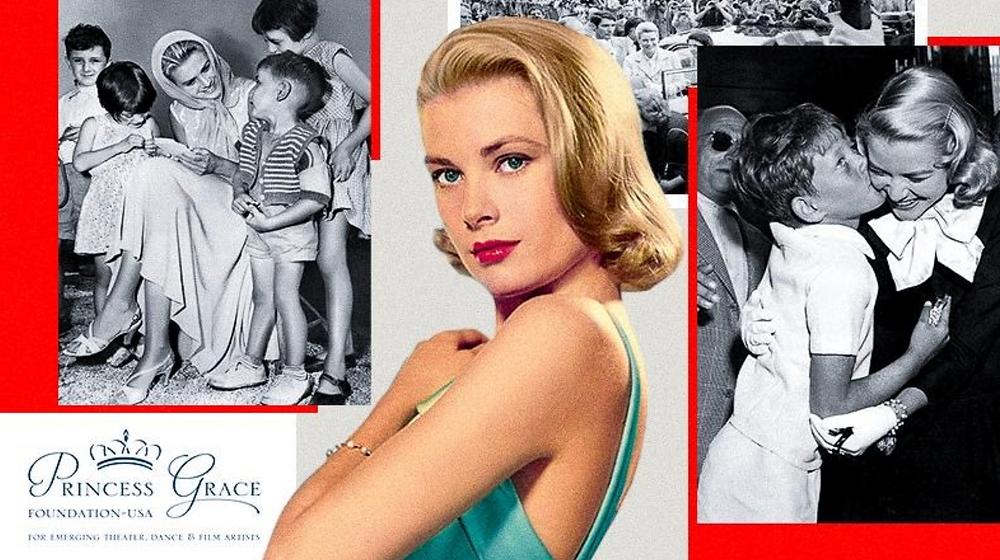 Collage of Princess Grace representing the Princess Grace Foundation-USA