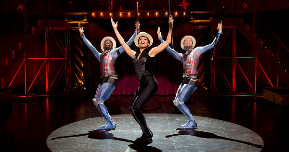 Carly Hughes stars as Leading Player in the Broadway revival of Pippin