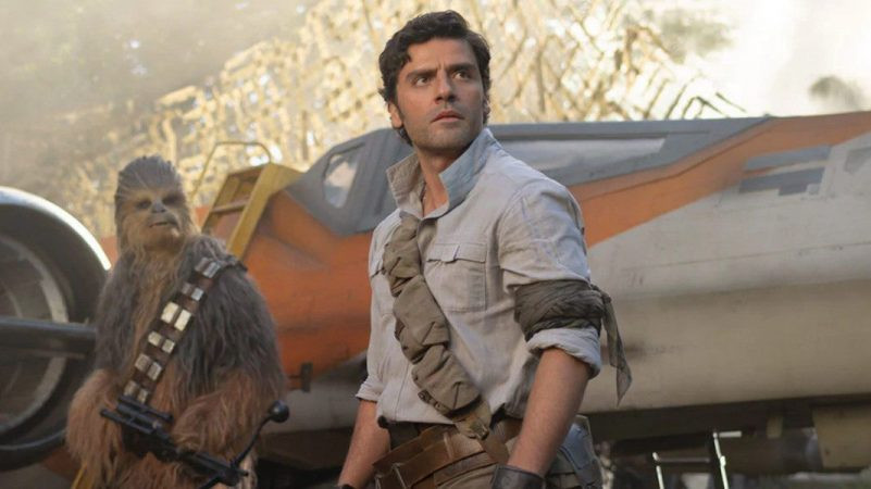 Oscar Isaac in Star Wars: The Rise of Skywalker
