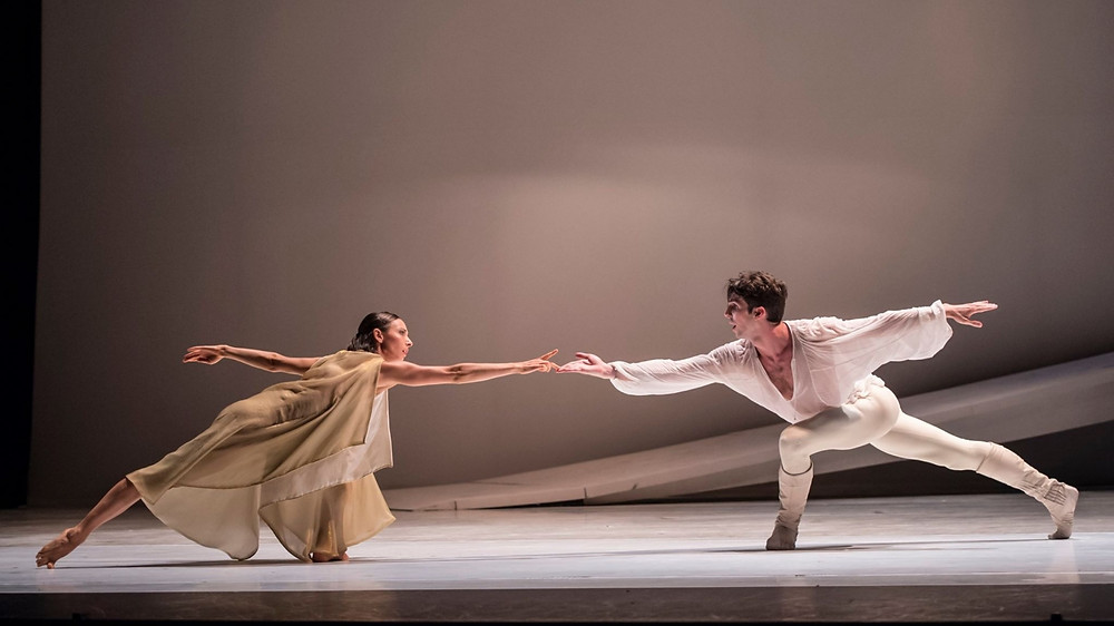Ballets de Monte Carlo's production of Romeo and Juilet in 2018