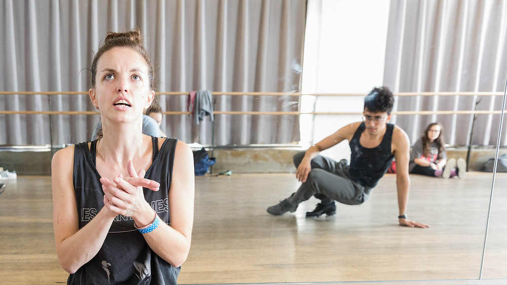 Tap dancer and choreographer Michelle Dorrance is the founder and artistic director of Dorrance Dance/New York