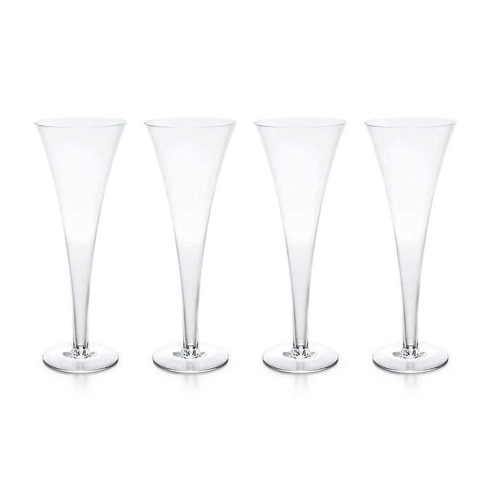 Tiffany & Co. Champagne Flutes set