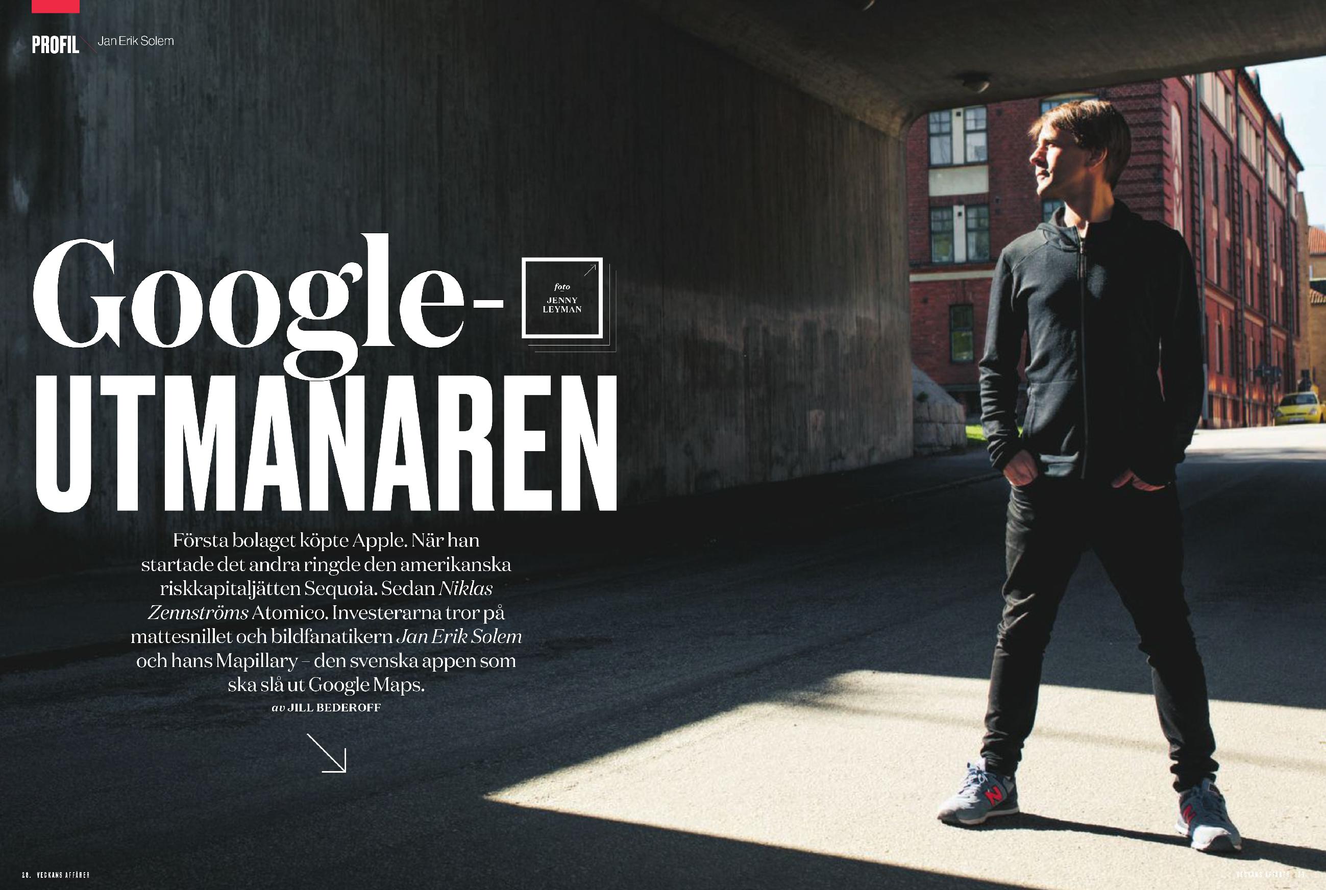 Jan Erik Solem, Mapillary