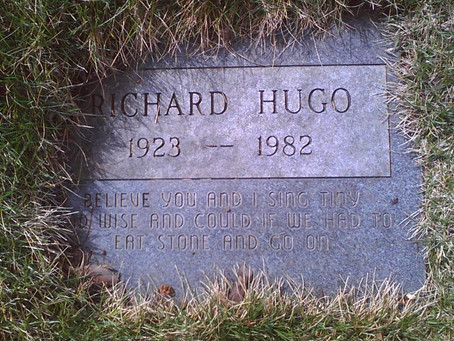 Richard Hugo and Montana: It's Complicated.