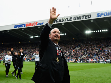 """""""Why do Newcastle fans love Rafa so much? He's no better than Bruce."""""""