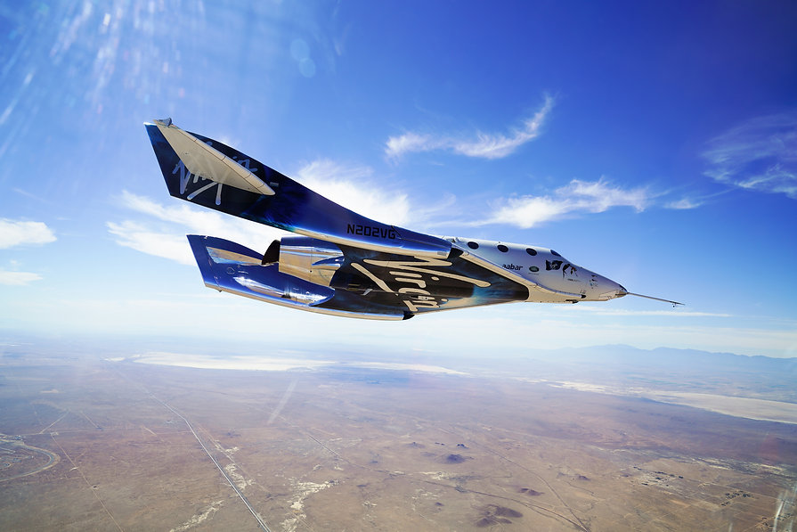 Virgin Galactic VSS Unity Space Jet | Space Travel