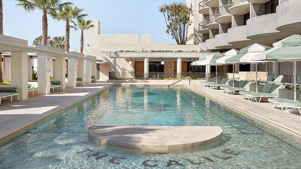 The Calile Hotel Pool
