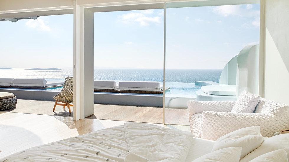 Cavo Tagoo Mykonos | Greece Hotel | Ocean View Suite