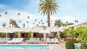 Beverly Hills Hotel | Poolside Cabana | Travel