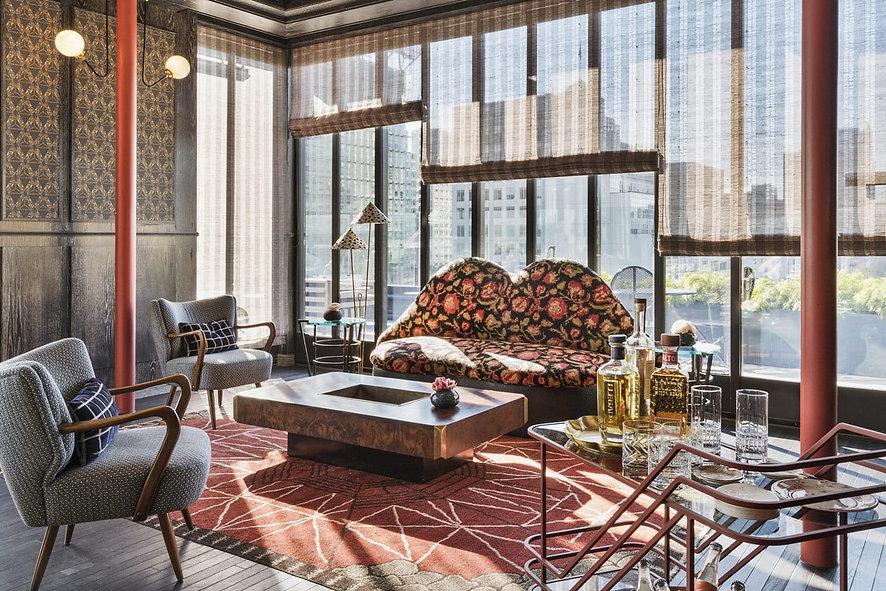 Luxury Living Room | Santa Monica Proper