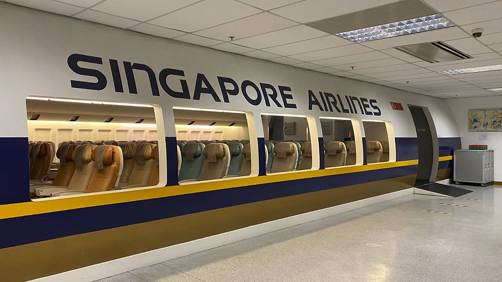 Singapore Airlines | Pop-up Dining | Travel Blog