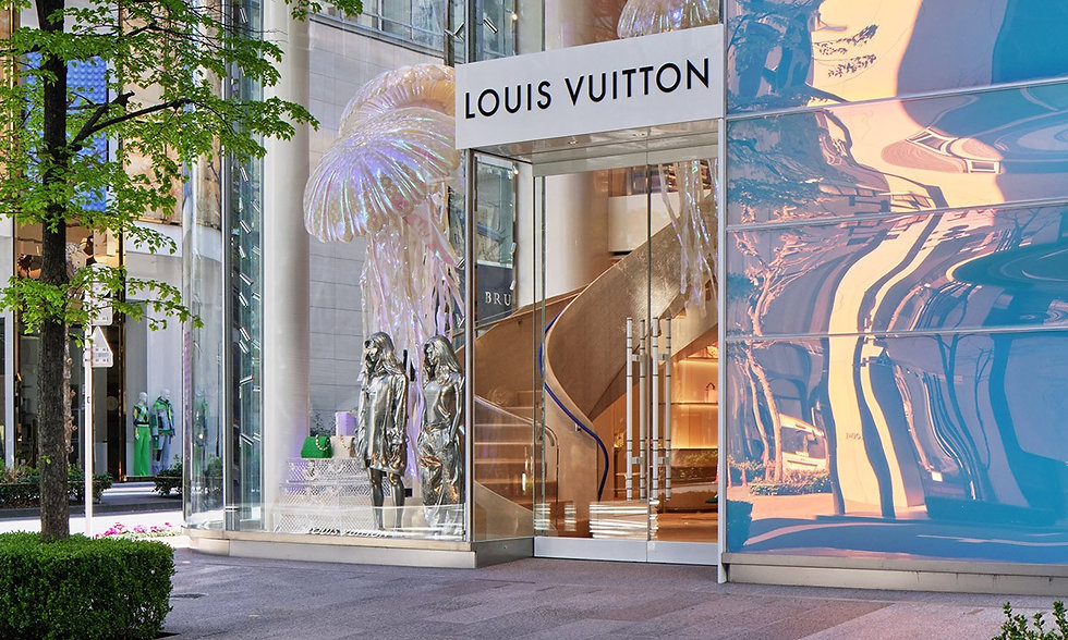 Louis Vuitton | Flagship Store Tokyo | Ax Magazine