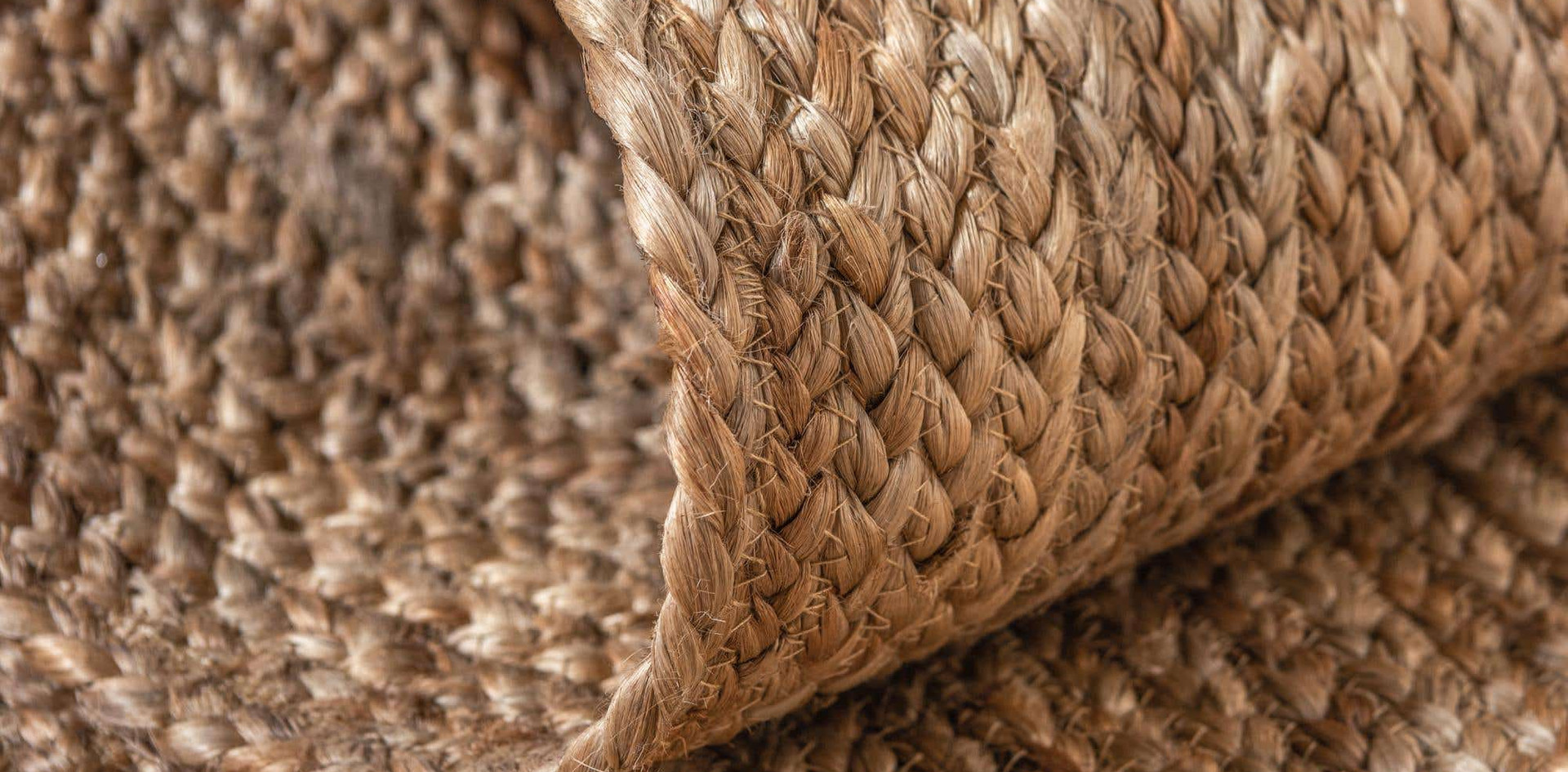 collected jute rug