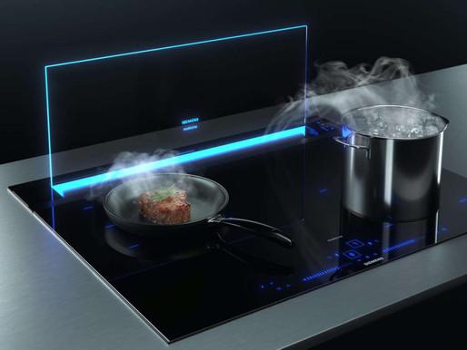 GlassdraftAir, la cappa trasparente Siemens