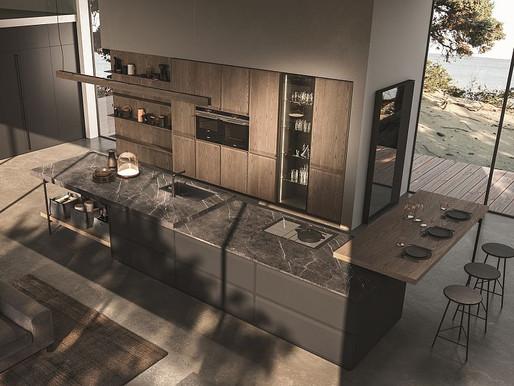 Le ante a telaio di Ak_07, la nuova cucina Arrital