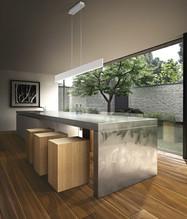 Pavimento in legno LARGE Noce Europeo Rustico Stone Oliato