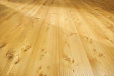 Pavimento in legno LARGE Larice con nodi Spazzolato Oliato