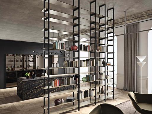 Librerie interparete per spazi connessi