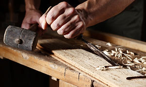 Lavorazione made in Italy parquet in Rovere a listoni