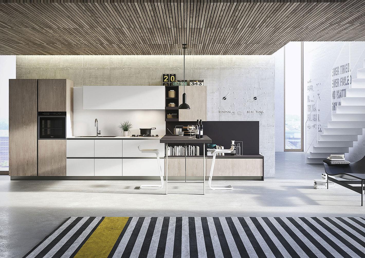 cucine-design-economiche-first-snaidero-