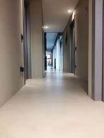 pavimento in resina monocolore