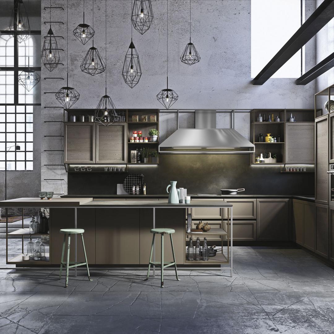 cucine-classiche-con-isola-frame-snaider