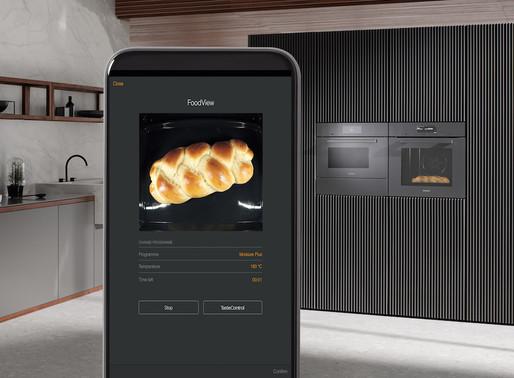 Il forno MIELE con fotocamera connessa per controllare la cottura