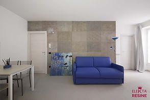 resine design roma pavimento in microcemento grigio