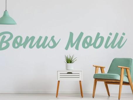 Bonus mobili maggiorato per il 2021