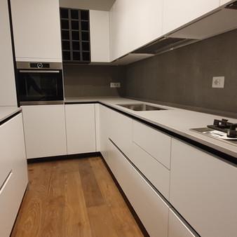 Cucina LAB13 finitura Polimerico bianco di ARAN CUCINE