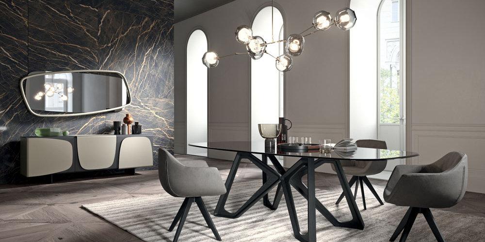 Tavoli design fissi roma