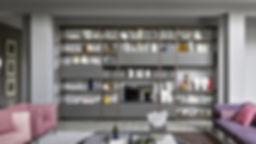libreria componibili roma eur, soggiorno moderno roma, pareti attrezzate roma eur, novamobili librerie su misura con progettazione interni