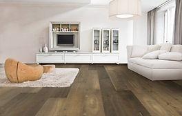 Pavimento in legno di Rovere verniciato unikolegno roma