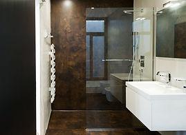 Rivestimenti bagno in resina design
