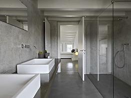 bagno di design in resina