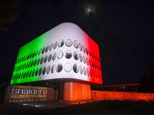 Snaidero, il tricolore illumina la ripartenza