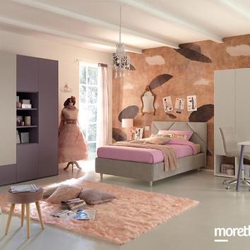 Cameretta Moretti Compact colori laccato opaco a partire da € 3250