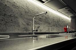 schienale cucina in resina