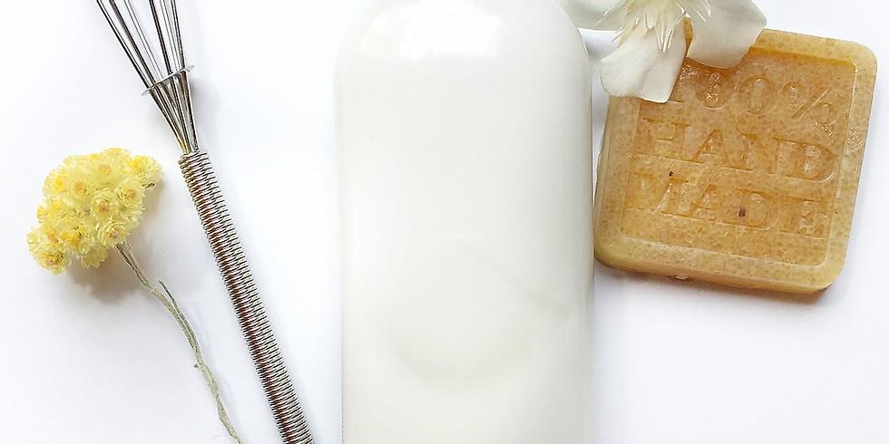 Atelier Cosmétique / Lait pour le corps au monoï et gommage au sucre