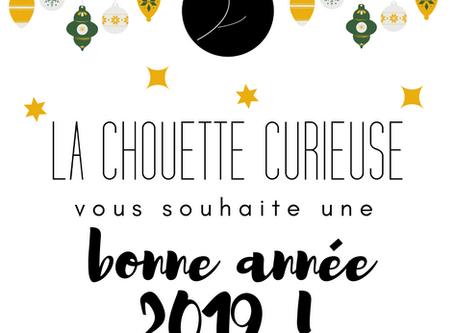 On vous souhaite une bonne année 2019 !