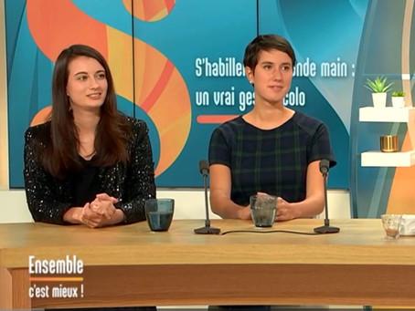 """Témoignage chez France 3 dans l'émission """"Ensemble c'est mieux"""""""